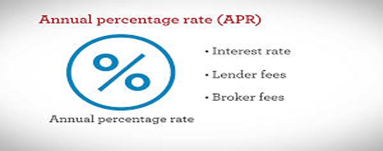 APR- Annual Percentage Rate